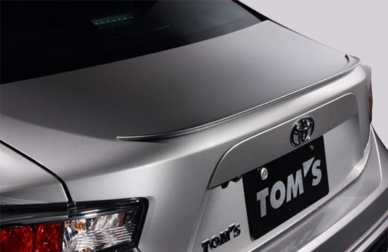 Scion Frs Parts >> Tom's Rear Trunk Lid Spoiler for Toyota FT86 / Scion FRs - $219.00 : Boom Plus Toys, Your JDM ...