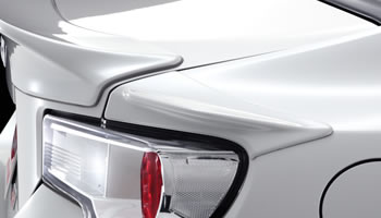 TRD Rear Side Spoiler for Toyota FT86 / Scion FRS