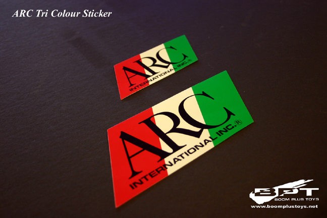 ARC Tri Colour Sticker (Large)