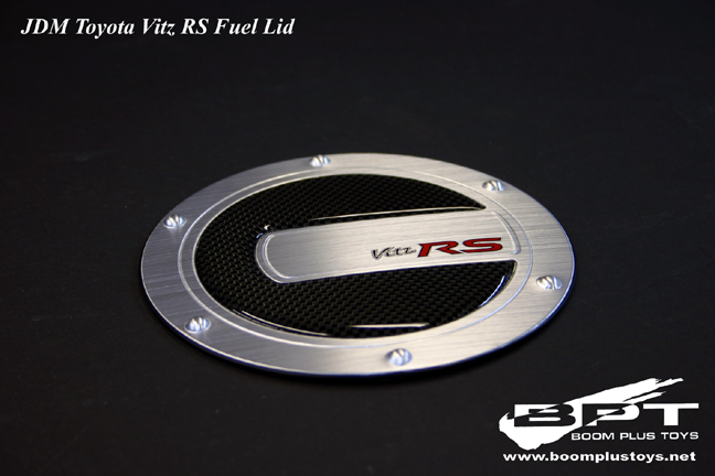 JDM Toyota Vitz / Echo SCP10 Fuel Lid 'Vitz RS' Decal