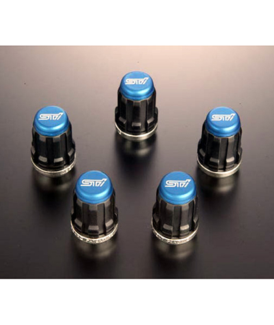 STI Wheel Nut Set (Blue)