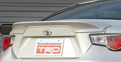 TRD Rear Spoiler for Toyota FT-86 / Scion FRS