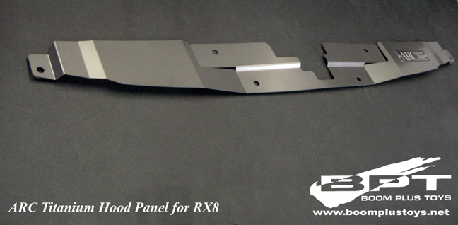 ARC Titanium Hood Panel for Mazda RX-8 SE3P
