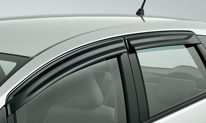 JDM Honda Fit GK Door Visors