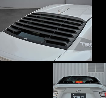 TRD Rear Window Louvre for Toyota FT86 / Scion FRS